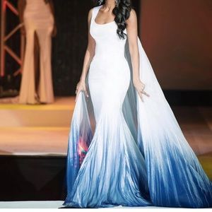 Mac Duggal Pageant Gown.